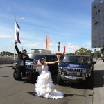 Wedding hummer limo hire