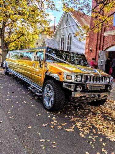 GOLDEN LIMO